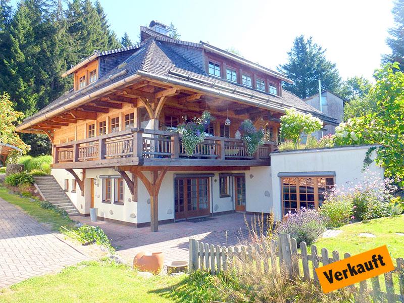 Schwarzwaldhaus in Hinterzarten
